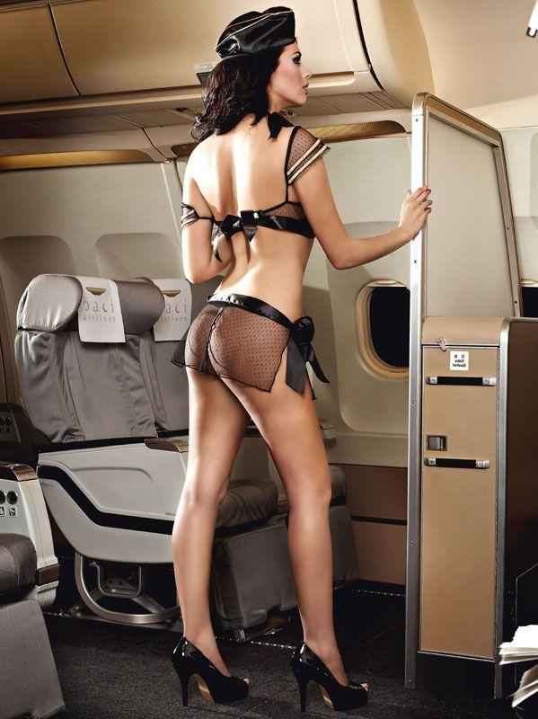 Stewardesseuniform - BH sæt (#1221)