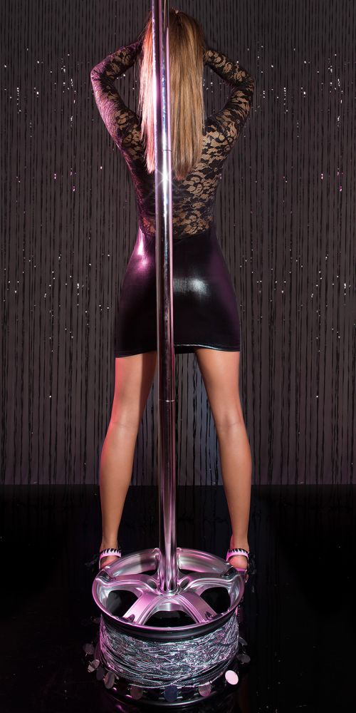 Angelina Wetlook / Lace Minikjole