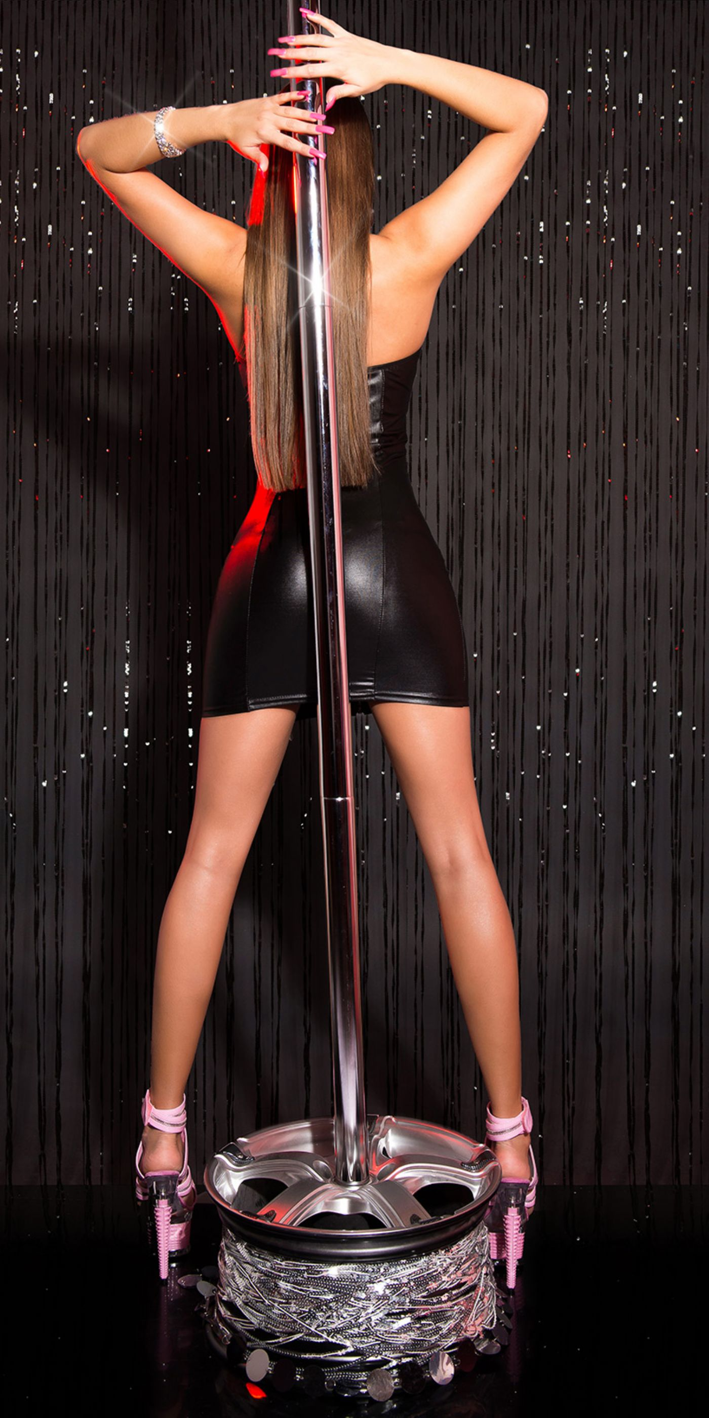Anna GoGo Dress - med lynlåse