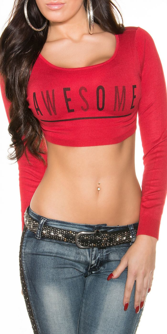 Awesome - Crop Top