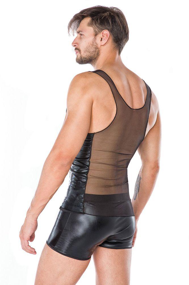 Boxershorts/shirt sæt - Wetlook (MC/9057)