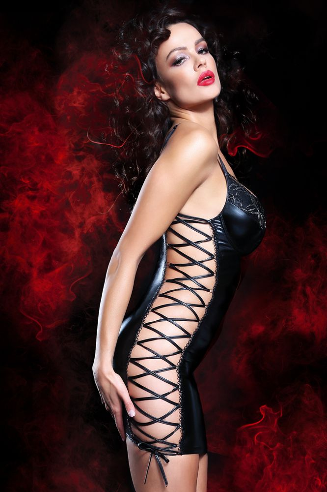 Aline Wetlook kjole - snøring side