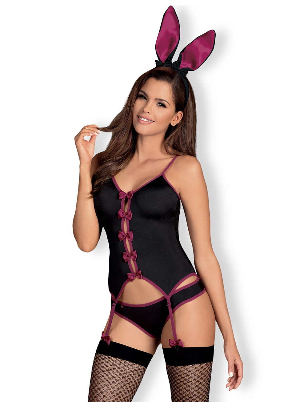 Bunny sæt - sort (Kanin sæt)