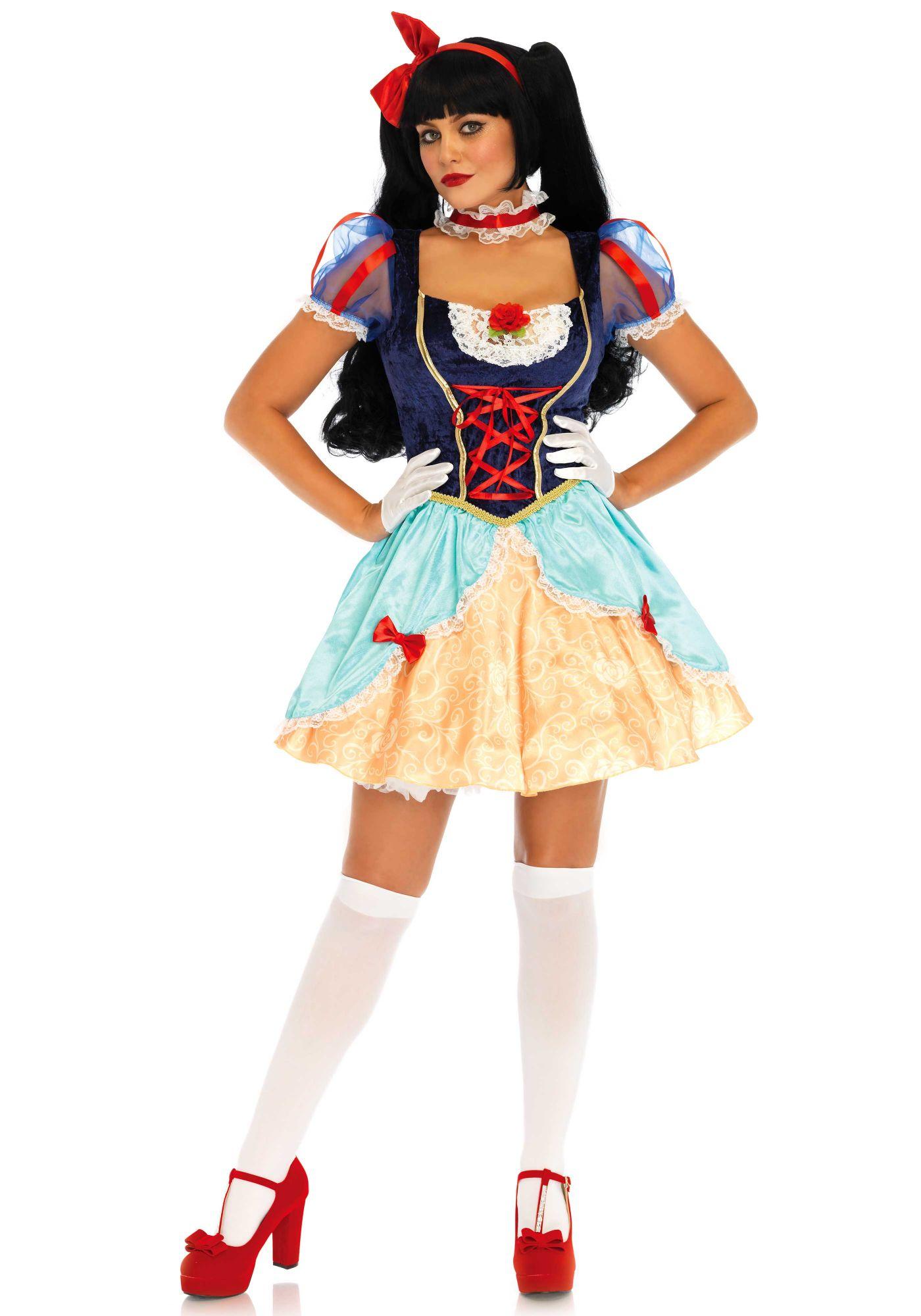 Deluxe Lolita Snehvide kostume (LA85647)
