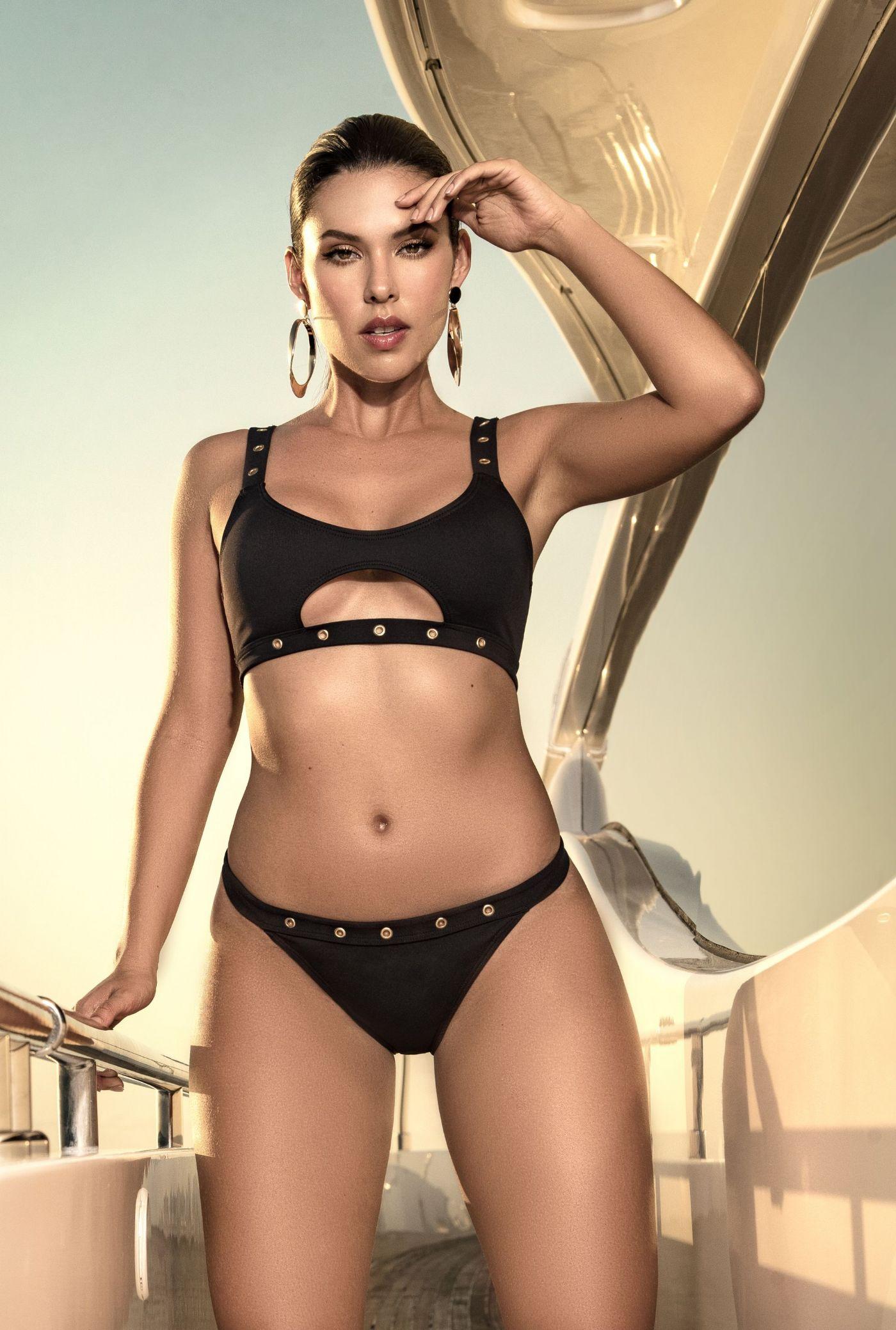 Bikini - Cutout top - Metal Eyelets (MAP6531)