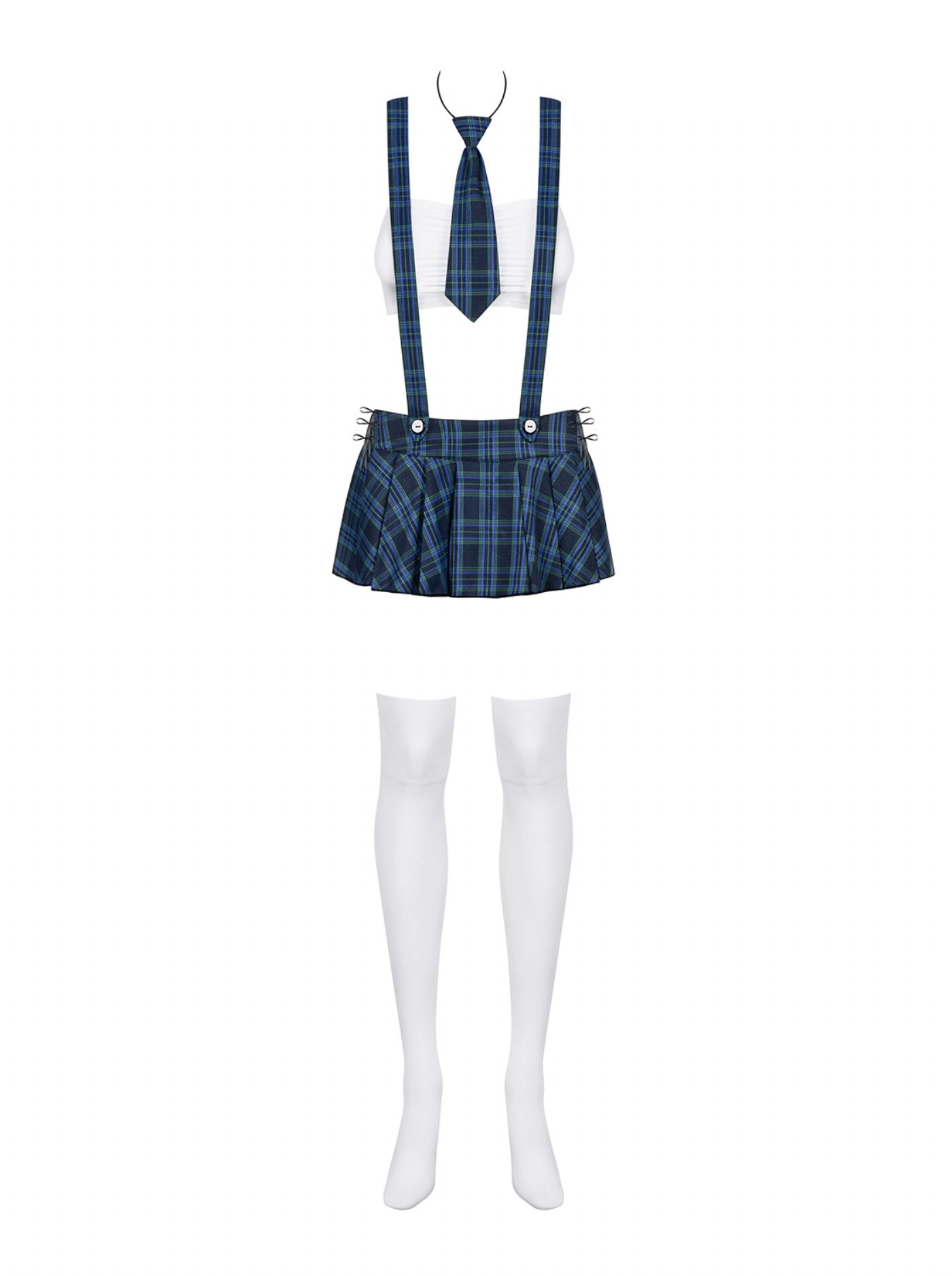 Skolepige Kostume - Studygirl