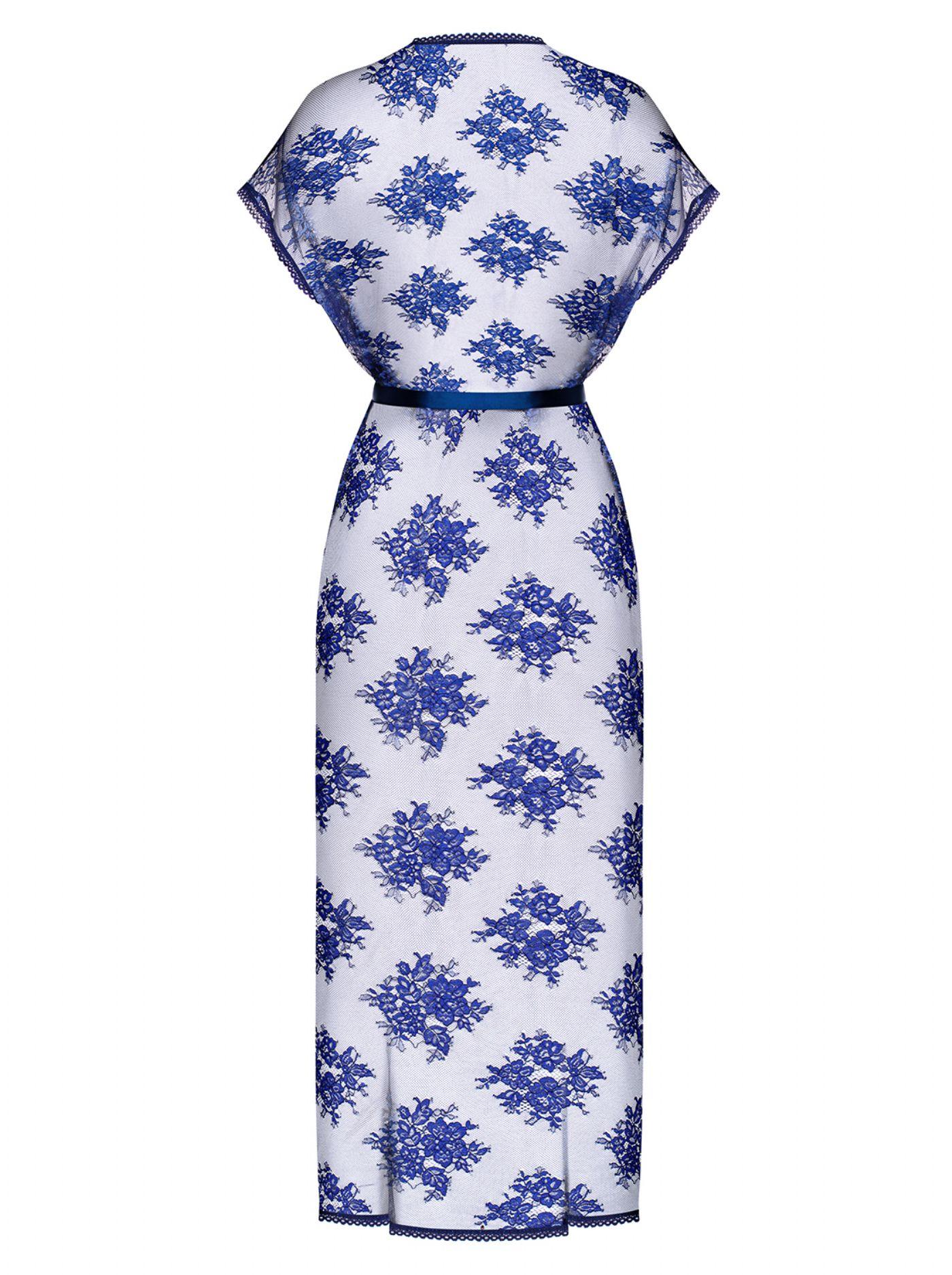 Flowlace Peignoir - blå