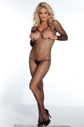 Bodystocking - Multi Fence Net (1759)