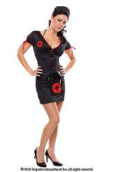 Sygeplejerskekostume - Knockout Sygeplejerske Kostume (M6420)