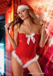 Kostumer - Julepiger / Nissepiger - Jule-Pige Santa's Lady Body