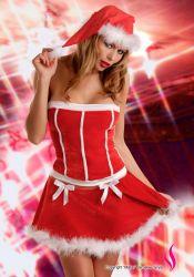 Kostumer - Julepiger / Nissepiger - Jule-Pige Snow Lady