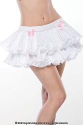 Nederdele & Shorts - Eyelet Petticoat Skørt - Hvid (2207)
