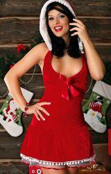 Kostumer - Julepiger / Nissepiger - Winter Lady - Nissepige