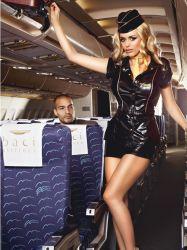 Kostumer - Politi / Militær - Stewardessekostume sæt (#1218)