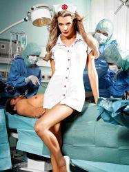 Sygeplejerskekostume - Sygeplejerskekittel (#1233)