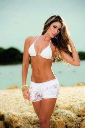 Beachwear - Strand Shorts - Blomster Blonder (MAP7736)