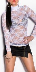 Bluser / T-shirts - Misty - Gennemsigtig Bluse