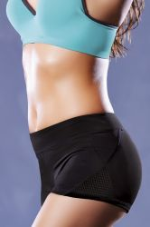Sport / Fitness - Microfiber Shorts (STM-30126)
