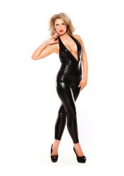 Allure Lingerie - Kitten Wetlook Catsuit