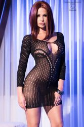 Lingeri kjoler - Lingeri Minikjole (CR-4100)