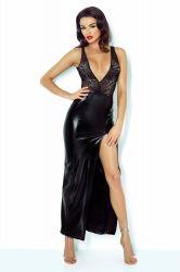 Lange kjoler - Jacqueline Wetlook kjole