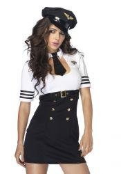 Leg Avenue - First Class Captain - Kostume (LA83839)