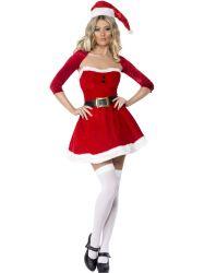 Kostumer - Julepiger / Nissepiger - Santa Babe - Julepige sæt (FV20770)