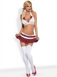 Kostumer - Skolepigekostume / Cheerleader - Skolepige uniform - Kostume sæt