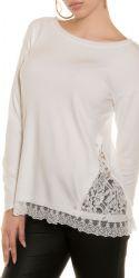 Bluser / T-shirts - Pullover med Blonder