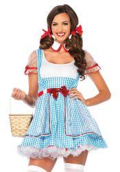 Sexede Kostumer - diverse - Oz Beauty - Eventyr kjole (LA85229)