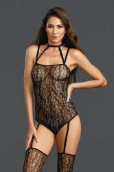 - Bodystocking - sort (DG-0311)