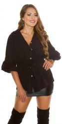 Bluser / T-shirts - Bluse - Flounce og Bælte