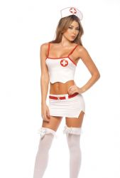 Sygeplejerskekostume - Head Nurse - sygeplejerske kostume (MAP6009)