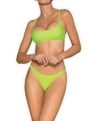 Mexico Beach Bikini sæt (neon green)