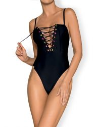 Bikini & Badetøj - Beverelle Badedragt (sort)