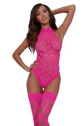Romper / Bodies - Body & Strømper - Hot pink (DG-11784)