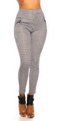 Pants / Jeans - Bukser - Houndstooth mønster