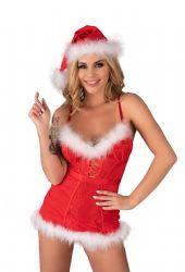 - Agethe Julepige Shirt, Trusse & Nissehue