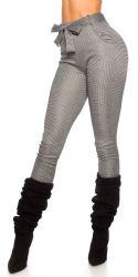 Pants / Jeans - Bukser med bælte - lys farve