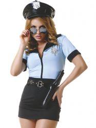Politikostume & militærkostume - Politibetjent Kostume (02232)