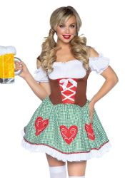 Leg Avenue - Bavarian Cutie - Ølpige Kostume (LA86881)