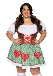 Leg Avenue - Bavarian Cutie - Ølpige Kostume - Queen (LA86881X)